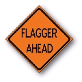 Rental store for SIGN FLAGGER AHEAD in Seattle WA