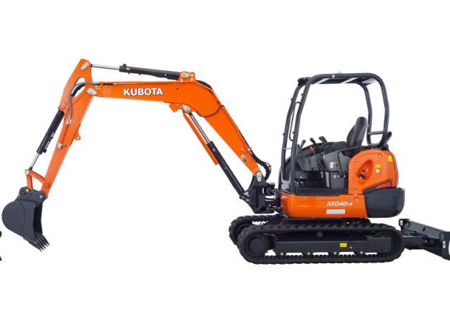 Where to find EXCAVATOR, KUBOTA KX040 in Seattle