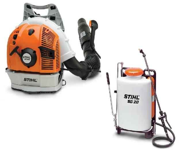 Rent Stihl Blowers/sprayers Sales