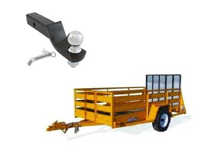 Rent Trailers & Hitches